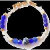 Santorini Bracelet with white and blue - Pulseiras - $22.00  ~ 18.90€
