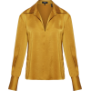 Satin Wide-Collar Blouse Theory - Camicie (lunghe) -