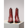 Satore flame Leather ankle  Boots Red - Boots - $820.00