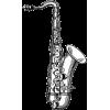 Saxophone drawing - Illustrations -