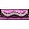 Scarleton Metallic Clutch With Crystals H3015 Purple - Torbe s kopčom - $19.99  ~ 17.17€