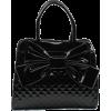 Scarleton Quilted Patent Faux Leather Satchel H1048 Black - Bolsas pequenas - $34.99  ~ 30.05€