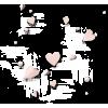 Scattered hearts - Иллюстрации -