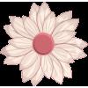 Scrapbook Flower Daisy Cosmo Sticker - Plants -