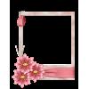 Scrapbook Flower Photo Frame - フレーム -