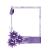 Scrapbook Flower Photo Frame - Frames -