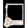 Scrapbook Flower Photo Frame - Frames -