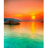 Sea Sunset - 背景 -