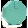 Seafoam Stagelight Clutch - Clutch bags - $298.00