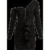 Self-Portrait Glitter Black Dress - Dresses -