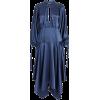 Self-Portrait - Satin midi dress - Dresses - $522.00