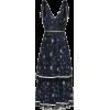 Self Portrait tiered star printed dress - Vestidos -
