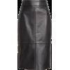 Selrita Leather Pencil Skirt - Skirts - $595.00