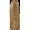 SemSem Plissé-lamé wide-leg pants - Capri & Cropped -