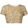 Sequin Top - T-shirts -