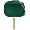 Serpui green clutch embellished bag - Clutch bags -