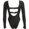 Sexy irregular buckle back cover jumpsui - Kombinezony - $23.99  ~ 20.60€
