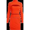 Sexy openwork navel long-sleeved shirt h - Dresses - $25.99