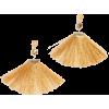 Shashi Mia Fan Tassel Earrings - Uncategorized - $12.60  ~ 10.82€