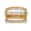 Shay 5 Row Mixed Diamond Ring - Кольца -