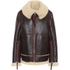 Shearling and leather jacket - Chaquetas -