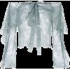 Sheer Shirt - Long sleeves shirts -