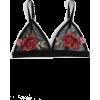 Shein Embroidered Rose Applique Mesh Bra - Uncategorized - $22.00