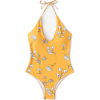 Shein Flower Print V Plunge Swimsuit - Uncategorized - $34.00  ~ 29.20€