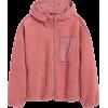 Sherpa Balloon-Sleeve Hoodie - Jacken und Mäntel - $119.00  ~ 102.21€