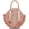 Shop Straw Circle Tote - Hand bag -