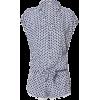 Short Sleeved Polka Dot Romper - Ostalo -