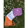 Shoulder Bag Cotton Crochet Lined  - Bolsas pequenas - $30.11  ~ 25.86€