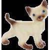 Siamese TomCat Figurine by Hagen-Renaker - Furniture -