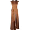 Sies Marjan - Zariah draped satin dress - Dresses -