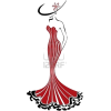 Silhouette of Slender Woman - Pozostałe -