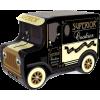Silver Crane Company van biscuit tin - Items -