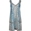 Silver Dress - Kleider -