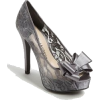 Silver Lace Shoes - Sapatos clássicos -