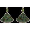 Silvia Furmanovich 18K Gold, Green Tourm - Earrings - $6.40