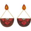 Silvia Furmanovich 18K Gold, Resin, Citr - Earrings - $5.00