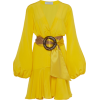 Silvia Tcherassi Belted Filis Silk Mini - Vestidos -