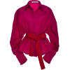 Silvia Tcherassi Exclusive Fabrizia Silk - Long sleeves shirts -