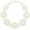 Simone Rocha daisy-shape pearl necklace - Collares -