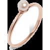 Simple Pearl Ring - Rings -