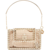 Sin City crystal-embellished cage clutch - Clutch bags -