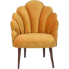 Sissy Boy mustard yellow shell chair - Мебель -