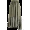 Skirt - Belt -