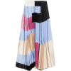 Skirt in washed satin crepe - Spudnice -