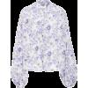 Slava Floral-Print Cotton Blouse by Thie - Košulje - duge -