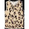 Sleeveless printed top - Shirts -